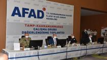 TAMP-KAHRAMANMARAŞ ÇALIŞMA GRUBU DEĞERLENDİRME TOPLANTISI