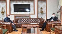 Vali Yılmaz'dan Kaymakam V. Hersanlıoğlu'na Ziyaret