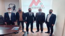 Ülkü Ocakları Başkanı Dursun Nar'dan MEDYA344 'e Ziyaret