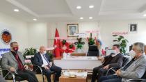 Başkan Okumuş'tan Karaoğlan ve Yönetimine Ziyaret