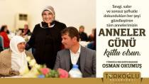 Başkan Okumuş Anneler gününü kutladı